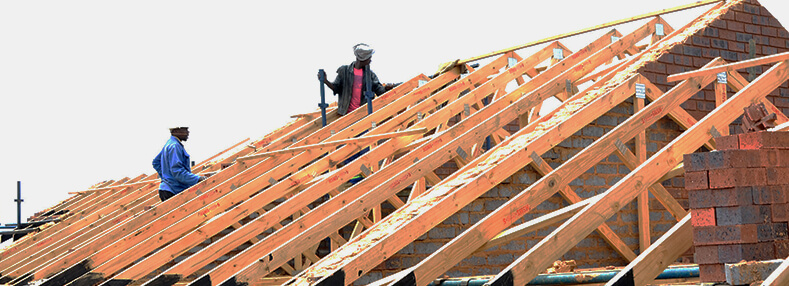 Quality Pine Roof Truss Designs at Work
